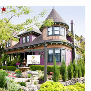 sonoma bed and breakfast, kelly & young wine garden inn of cloverdale ca