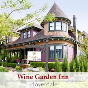 wine garden inn cloverdale ca