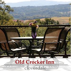 old crocker inn, cloverdale ca