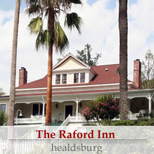 the raford inn of healdsburg