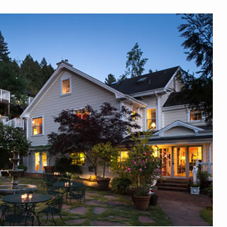 sonoma bed and breakfast, the inn at occidental