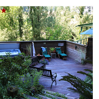 sonoma bed and breakfast, santa nella house, guerneville - russian river valley bed and breakfast