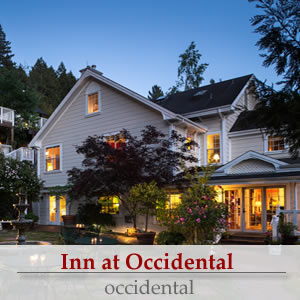 inn at occidental in the russian river valley - a sonoma wine country bed and breakfast inn