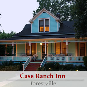 case ranch inn in the russian river valley - a sonoma wine country bed and breakfast inn