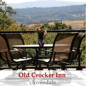 old crocker inn, cloverdale ca