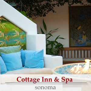 cottage inn and spa, sonoma california