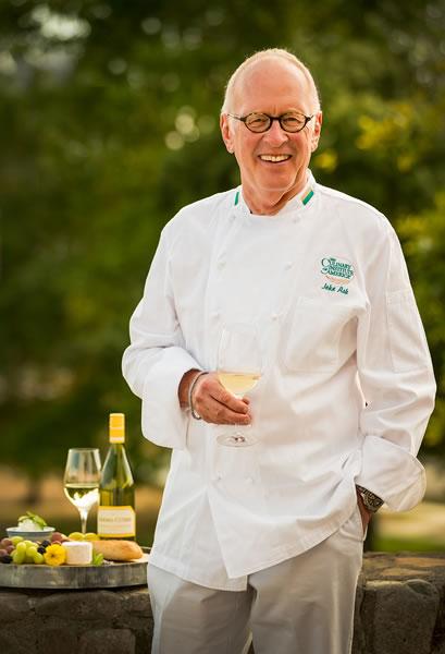 chef john ash, father wine country cuisine, sonoma county california
