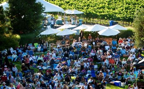 rodney strong vineyards summer concert series