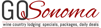 GO Sonoma – Wine Country Lodging: Luxury Inns, Bed & Breakfasts, Cottages Logo