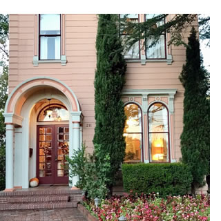 sonoma bed and breakfast camellia inn healdsburg ca
