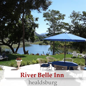 river belle inn healdsburg california bed and breakfast lodging