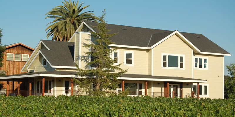 vineyard guesthouse in healdsburg ca