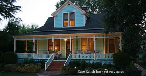 case ranch inn at sunset
